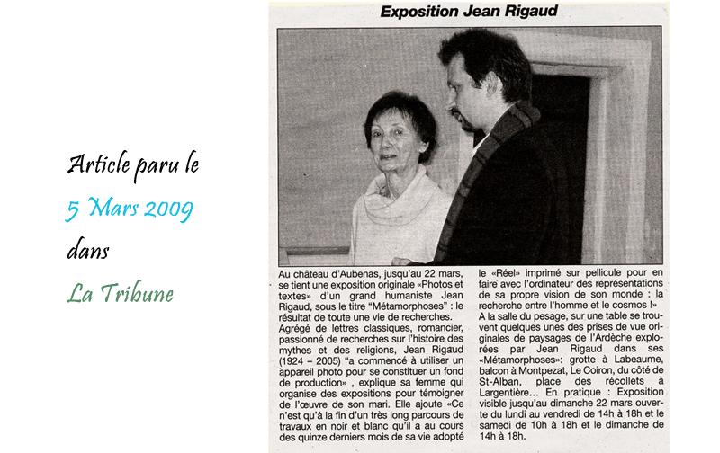 La Tribune 05/03/2009